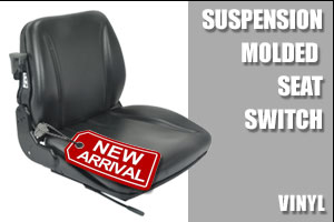 SUSPENSION MOLDED SEAT/SWITCH