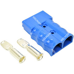 AM6321G1|CONNECTOR W/CONTACTS (SB350 2/0 BLUE)|