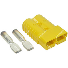 AM6323G1|CONNECTOR W/CONTACTS (SB350 2/0 YELLOW)|