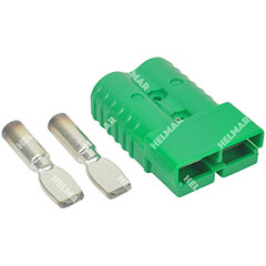 AM6324G1|CONNECTOR W/CONTACTS (SB350 2/0 GREEN)|
