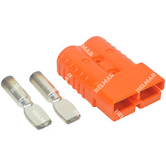 AM6400G1|CONNECTOR W/CONTACTS (SB350 2/0 ORANGE)|