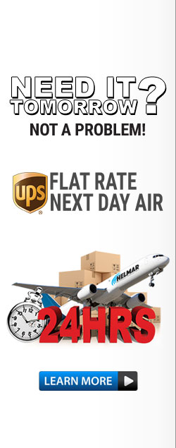 Flat Rate Next Day Air